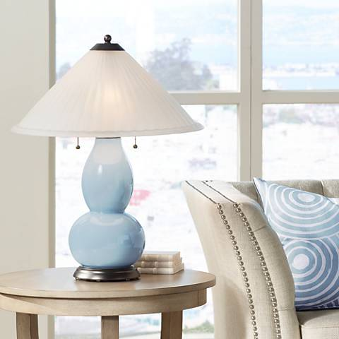 Take Five Fulton Table Lamp with Fluted Glass Shade
