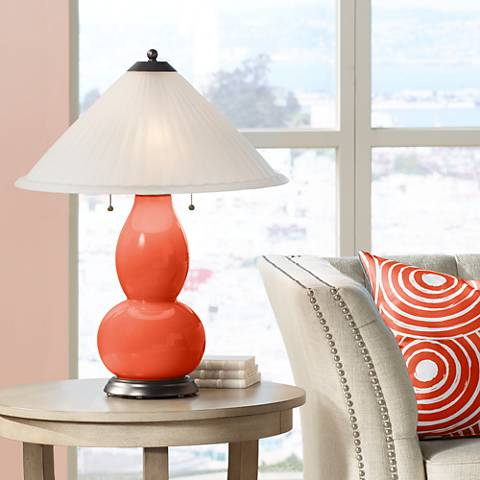 Daredevil Fulton Table Lamp with Fluted Glass Shade