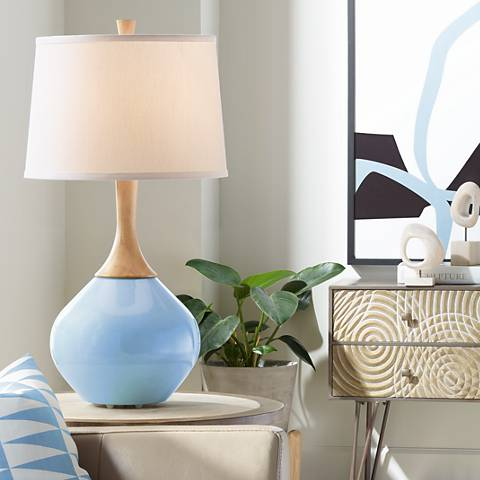 Placid Blue Wexler Table Lamp