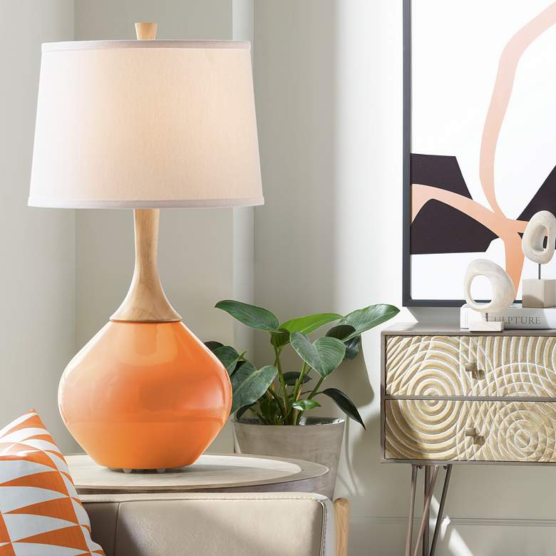Celosia Orange Wexler Table Lamp
