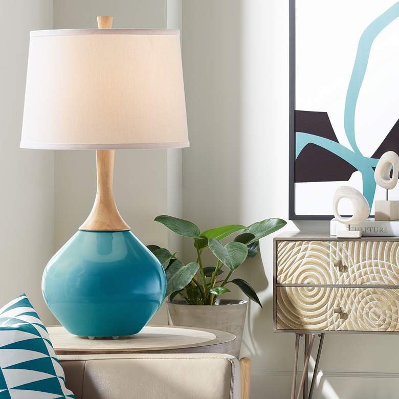 Caribbean Sea Wexler Table Lamp
