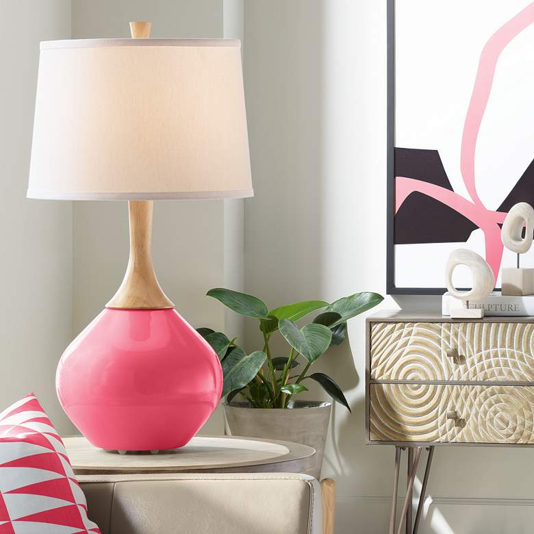 Eros Pink Wexler Table Lamp