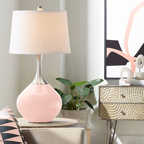 Rose Pink Spencer Table Lamp