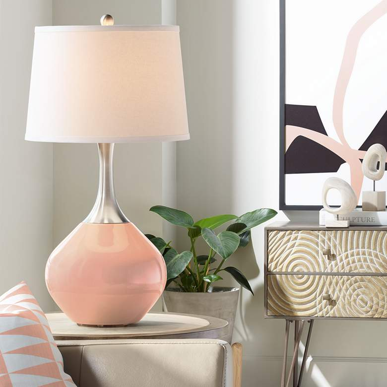 Mellow Coral Spencer Table Lamp
