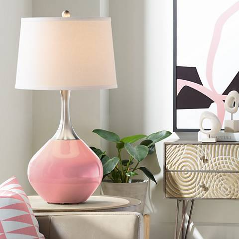 Haute Pink Spencer Table Lamp