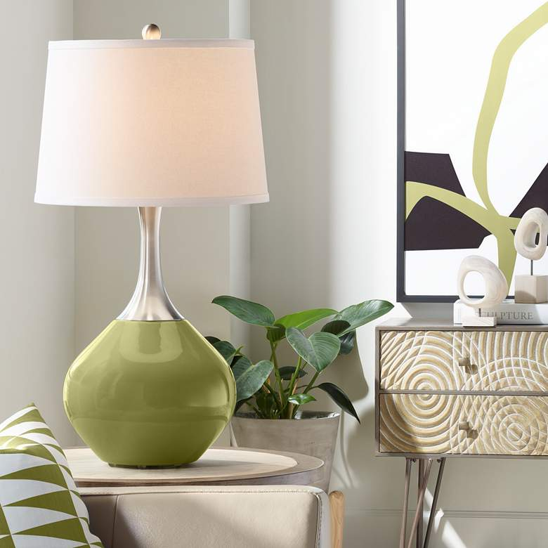 Rural Green Spencer Table Lamp