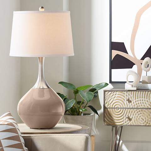 Mocha Spencer Table Lamp