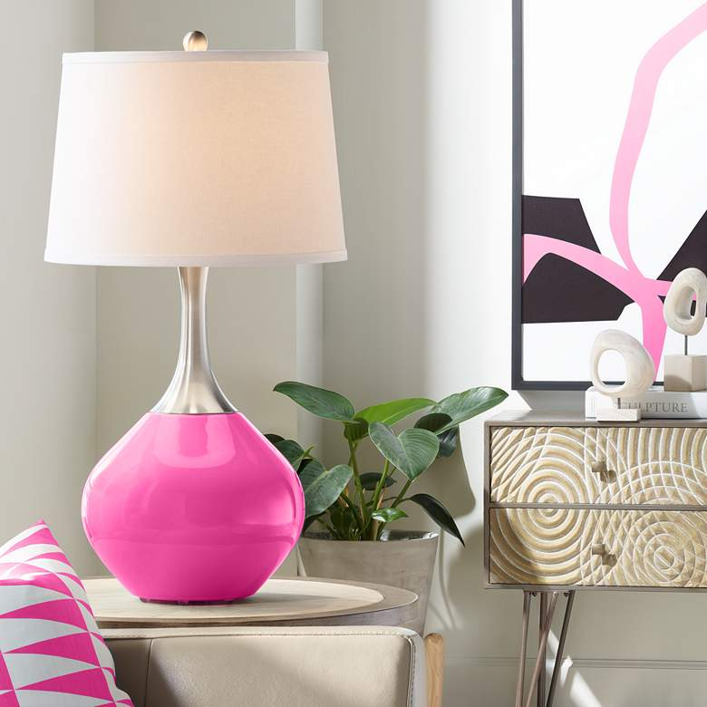 Fuchsia Spencer Table Lamp