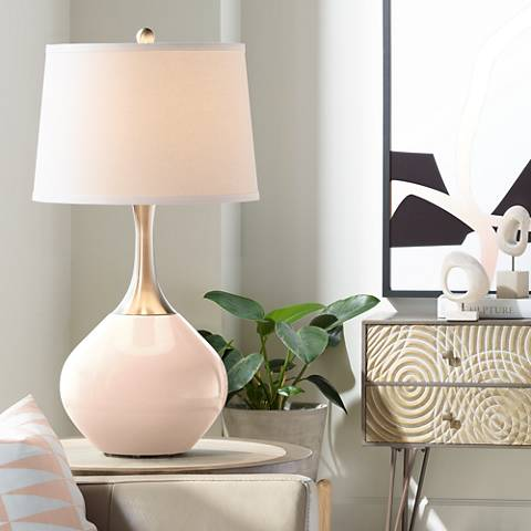 Linen Spencer Table Lamp