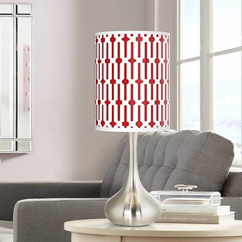 Amaze Giclee Droplet Table Lamp