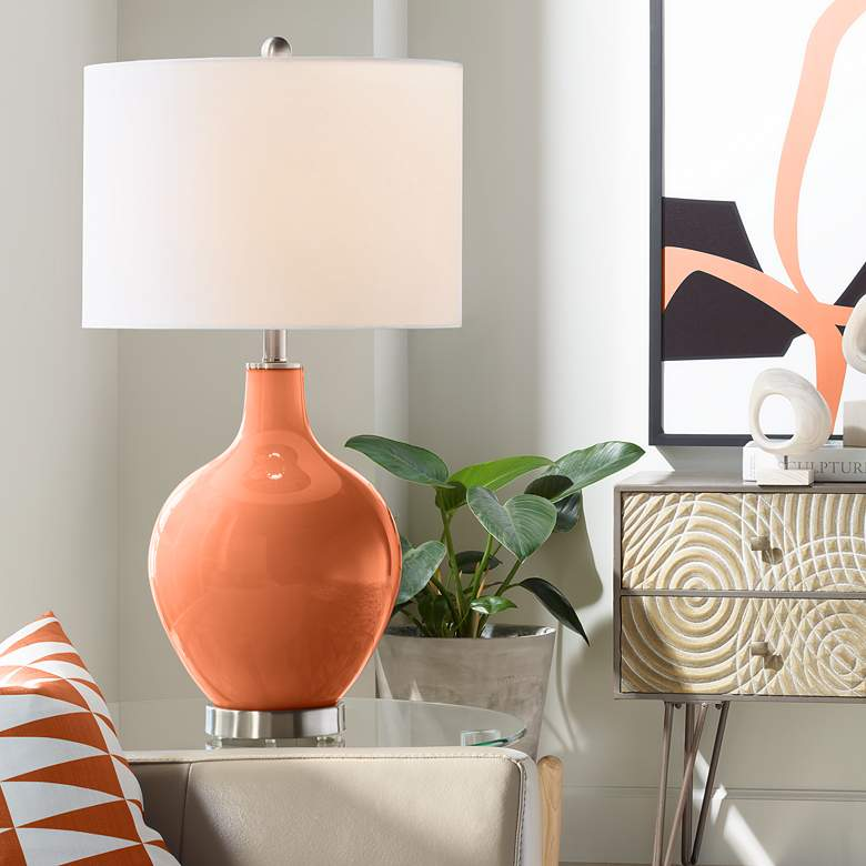 Robust Orange Ovo Table Lamp