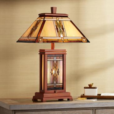 Walnut Mission Collection Table Lamp