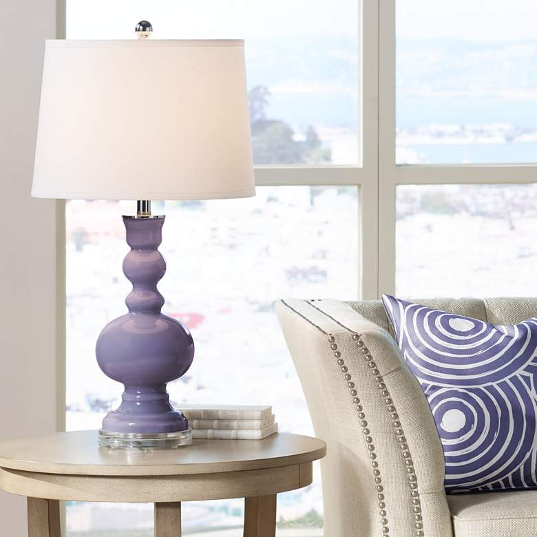 Purple Haze Apothecary Table Lamp
