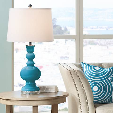Caribbean Sea Apothecary Table Lamp