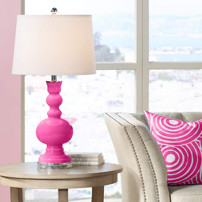 Blossom Pink Apothecary Table Lamp