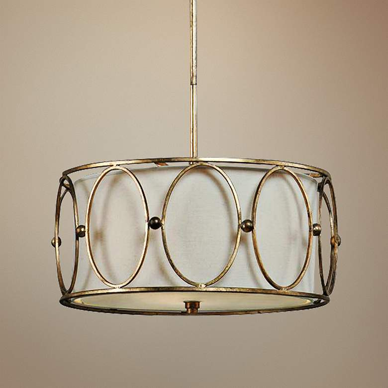 Carolyn Kinder Ovala 3-Light Pendant Chandelier