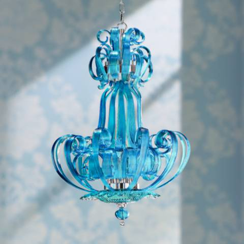 florence aqua glass pendant light 2d330 lamps plus 87867
