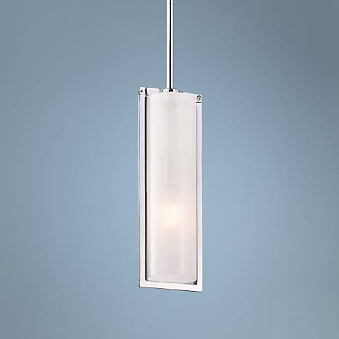 "Clarte Collection 5"" Wide One Light Mini Pendant"