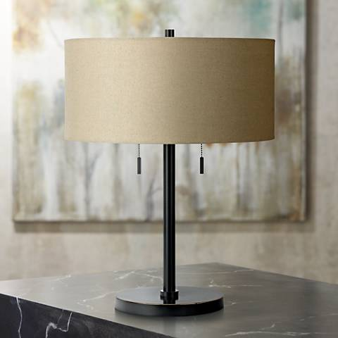 Spiga Dark Bronze Table Lamp