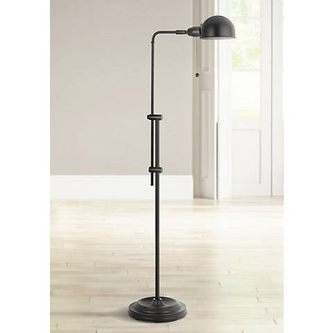 Tamber Bronze Adjustable Pharmacy Floor Lamp