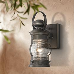 "Lynnfield 11 1/2"" High Oil-Rubbed Bronze Outdoor Wall Light"