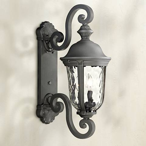 "Ardmore 24 1/2"" High Black Outdoor Wall Light"