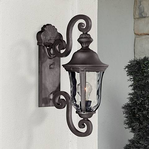 "Ardmore 19 3/4"" High Black Outdoor Wall Light"