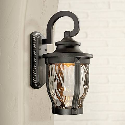 "Merrimack 20"" High Black LED Outdoor Wall Light"