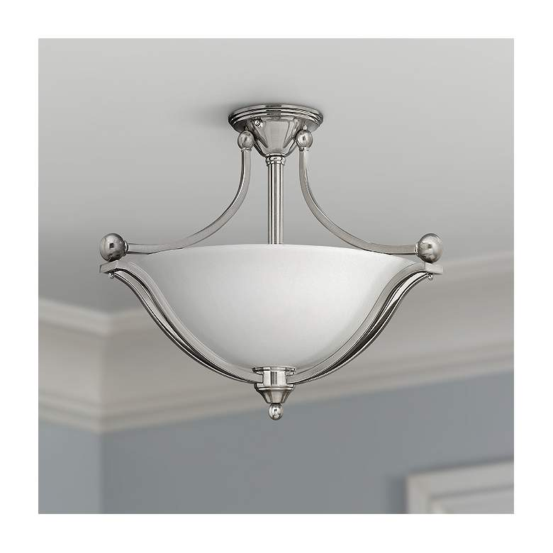 "Hinkley Bolla 23 1/4"" Wide Brushed Nickel Ceiling"