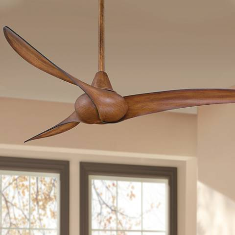 "52"" Minka Aire Wave Distressed Koa Ceiling Fan"