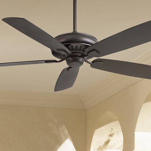"60"" Minka Aire Sunseeker All Weather Bronze Ceiling Fan"