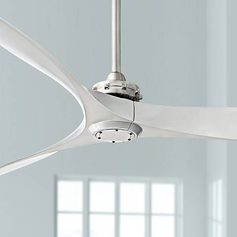 "60"" Minka Aire Aviation Brushed Nickel Ceiling Fan"
