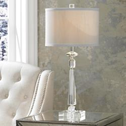 Aline Modern Crystal Table Lamp by Vienna Full Spectrum