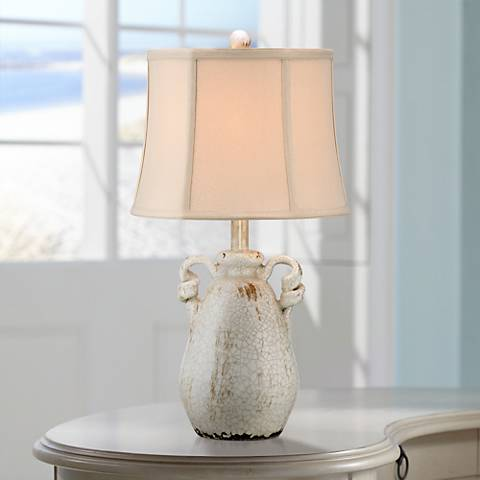 Sofia Ivory Ceramic Table Lamp