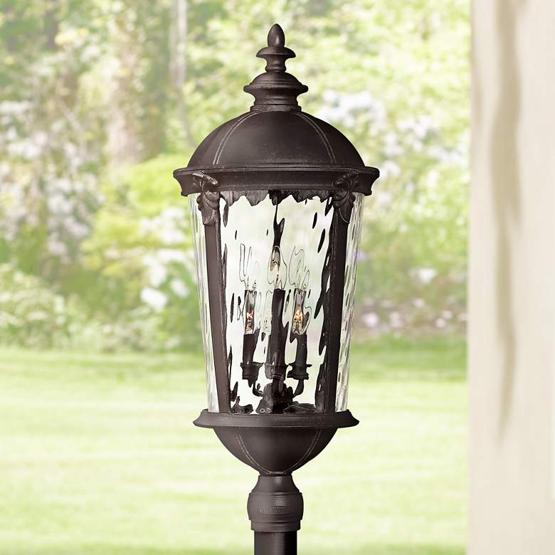 "Hinkley Windsor 34 3/4"" High Black Outdoor Post Light"