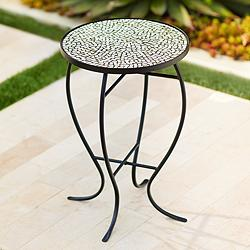 Zaltana Mosaic Outdoor Accent Table