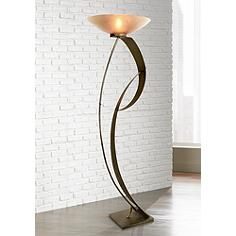 Van Teal Curvy Lady Contemporary Torchiere Floor Lamp