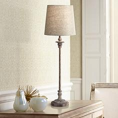 Traditional table lamps classic lamp designs lamps plus bentley weathered brown buffet table lamp aloadofball Images