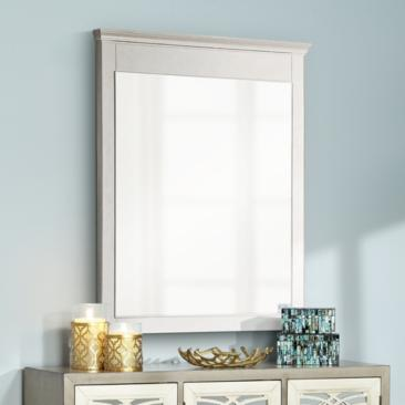 "Avanity Windsor White 30"" x 36"" Rectangular Wall Mirror"