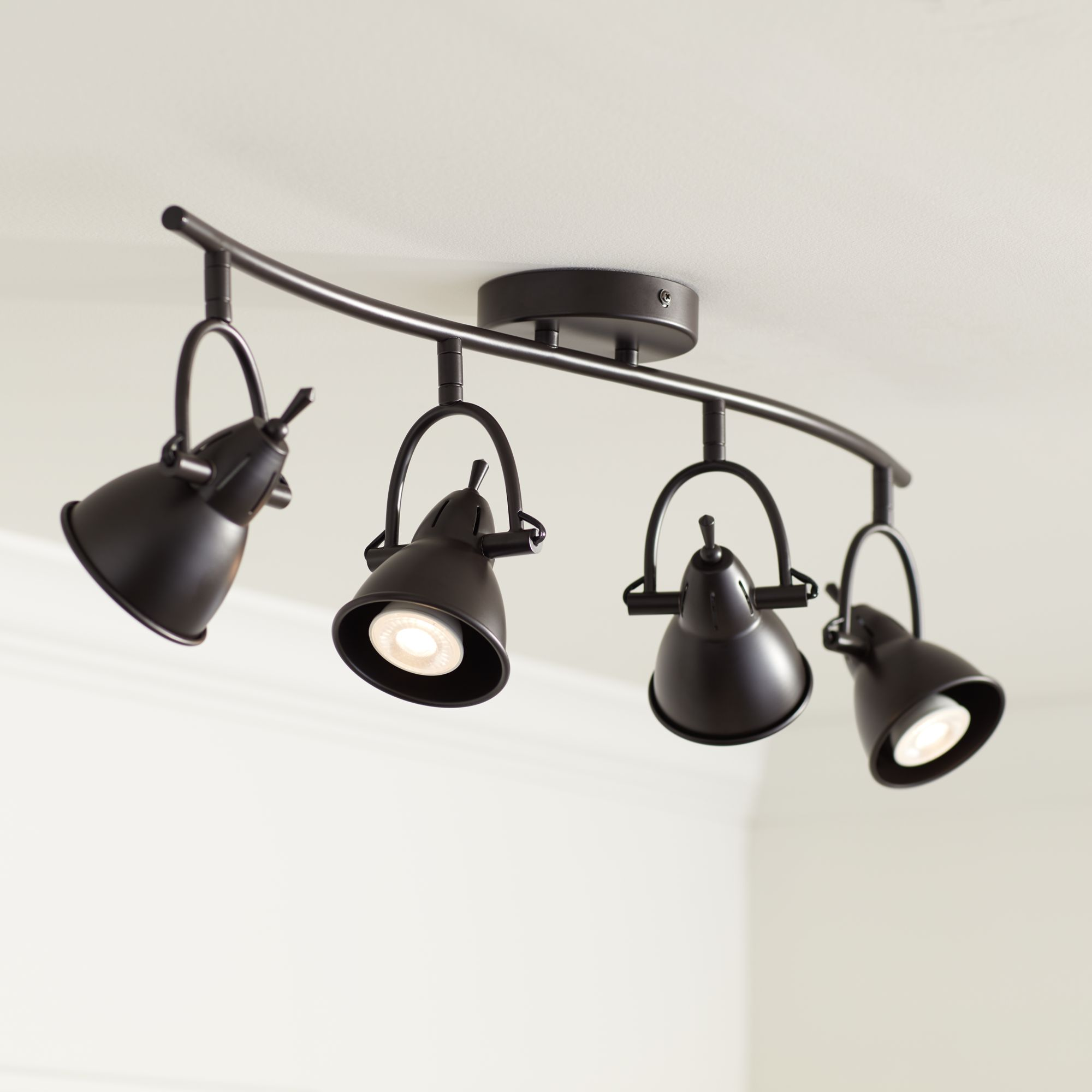 Pro Track® Thorndale Bronze Adjustable LED Track Kit Fixture : oil rubbed bronze track lighting - www.canuckmediamonitor.org