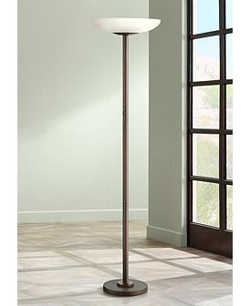 Possini Euro Design Torchiere Floor Lamps Lamps Plus