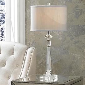 Crystal Table Lamps Luxe Living Lamps Plus