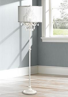 White, Floor Lamps | Lamps Plus