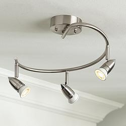 Pro Track® 3-Light Spiral Ceiling Light Fixture