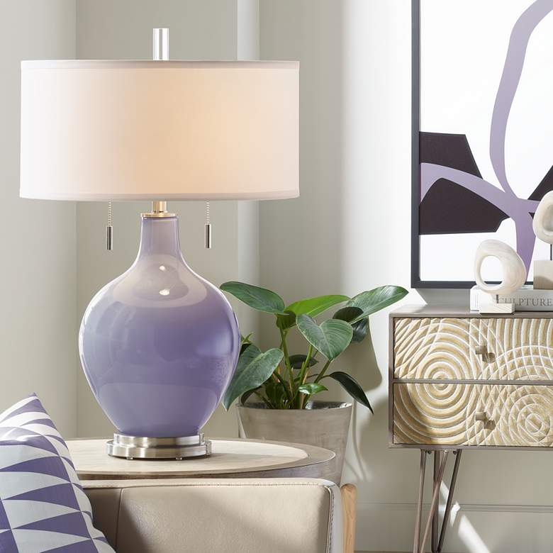 Purple Haze Toby Table Lamp