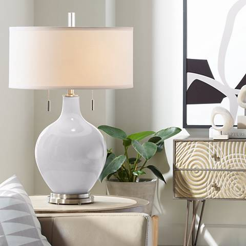 Swanky Gray Toby Table Lamp