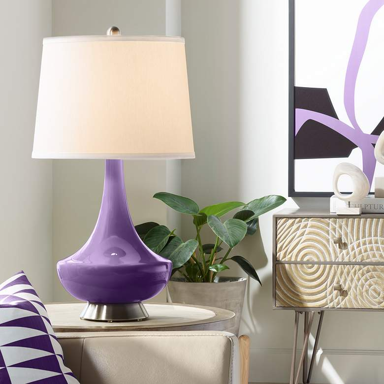 Acai Gillan Glass Table Lamp