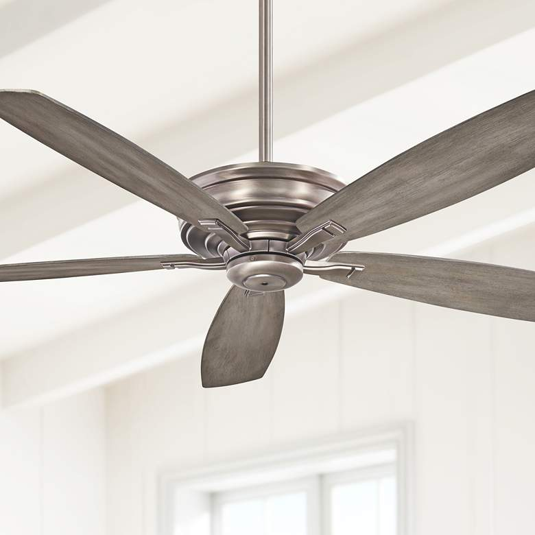 "52"" Minka Aire Kafe Burnished Nickel Ceiling Fan"