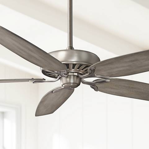 "72"" Great Room Traditional Burnished Nickel Ceiling Fan"