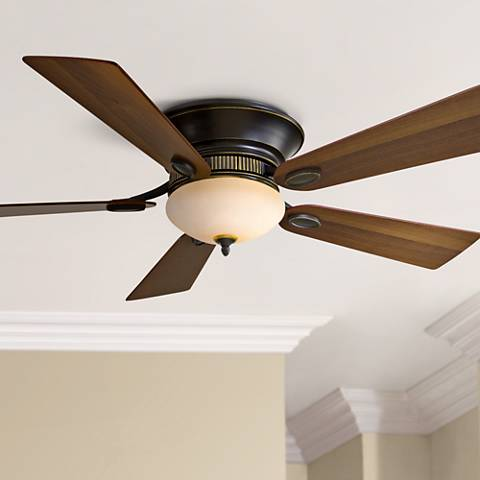 "52"" Minka Delano II Dark Restoration Bronze Ceiling Fan"